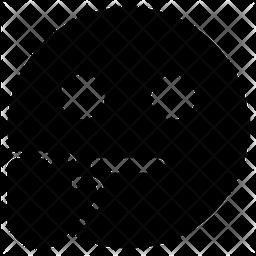 Stop Face Emoji Icon