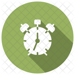 Stop Watch Glyph Icon