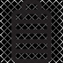 Storage bin Icon