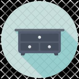 Storage Drawers Icon