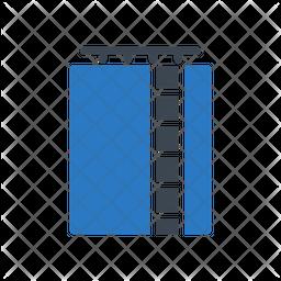 Storage Tank Flat Icon