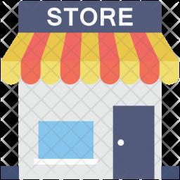 Store Flat Icon