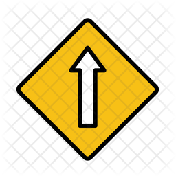 Straight ahead Icon