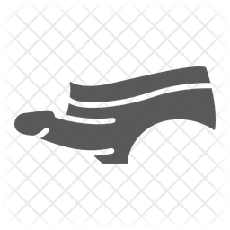 Strapon Glyph Icon