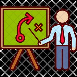 Strategy presentation Icon