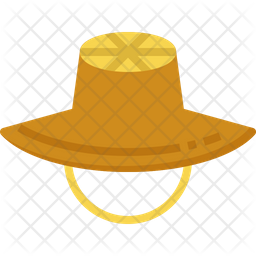 Straw Hat Icon Of Flat Style Available In Svg Png Eps Ai Icon Fonts