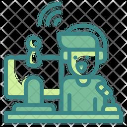 Streamer Icon