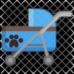Stroller Pet Icon