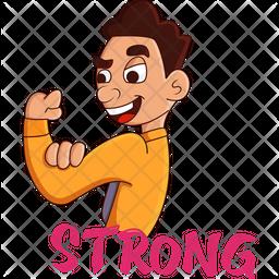 Strong Boy Icon