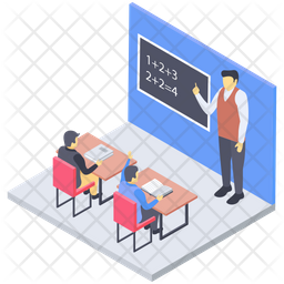 Student Classroom Icon