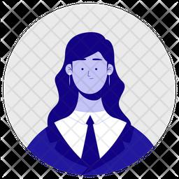 Student Girl Icon