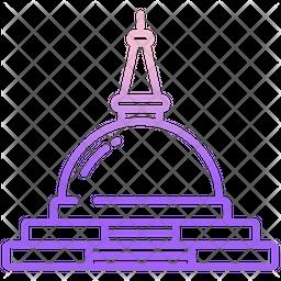 Stupa Icon