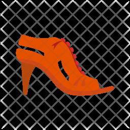 Stylish sandals Icon