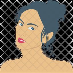 Stylish Woman Icon