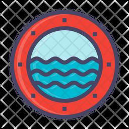 Submarine window Icon
