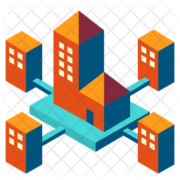 Subsidiaries Company Branch Icon Of Isometric Style Available In Svg Png Eps Ai Icon Fonts