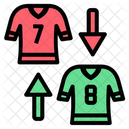 Substitute Player Icon