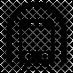 Subway Glyph Icon