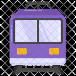 Subway Flat Icon