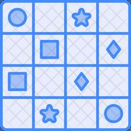Sudoku Dualtone Icon