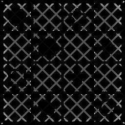 Sudoku Glyph Icon