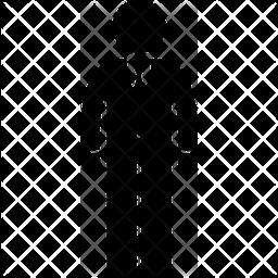 Suit Glyph Icon