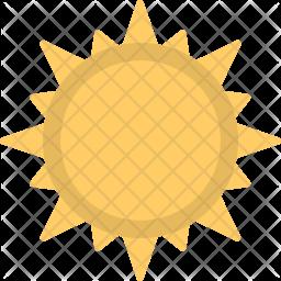 Sun Flat Icon