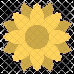 Sun Flower Emoji Icon