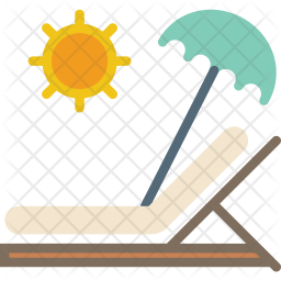 Sunbed Icon png