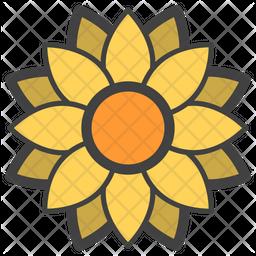 Sunflower Emoji Icon
