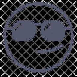 Sunglasses Emoji Icon