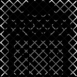 Super Market Glyph Icon