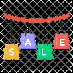 Super Sale Flat Icon