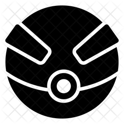Superball Glyph Icon