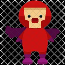 Superhero cape Icon