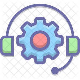 Support Colored Outline Icon