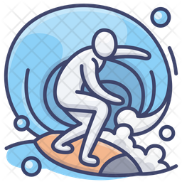 Surf Icon Of Colored Outline Style Available In Svg Png Eps Ai Icon Fonts
