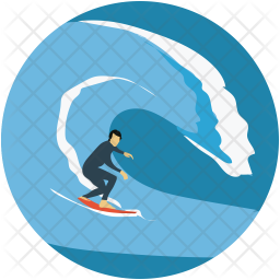 Surf Icon Of Flat Style Available In Svg Png Eps Ai Icon Fonts