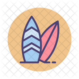 Surfing Icon Of Colored Outline Style Available In Svg Png Eps Ai Icon Fonts