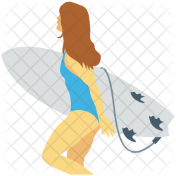 Surfing Icon Of Flat Style Available In Svg Png Eps Ai Icon Fonts