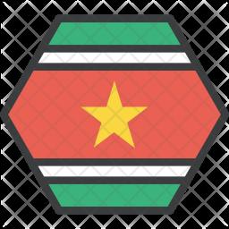 Suriname Flag Icon