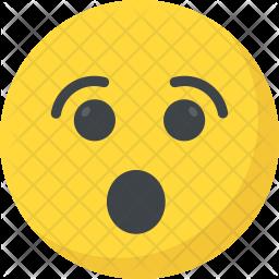 Surprised Flat Icon