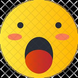Surprised Emoji Icon