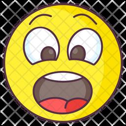 Surprised Emotag Emoji Icon