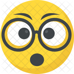 Surprised face Icon