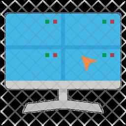 Surveillance Flat Icon