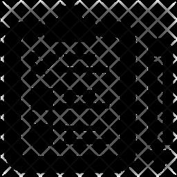 Survey Glyph Icon