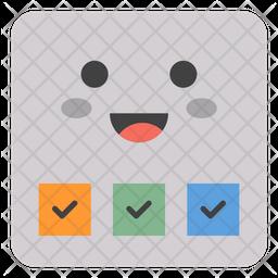Survey Paper Emoji Icon