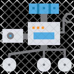 Surveyor Robot Icon