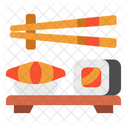 Sushi Icon Of Flat Style Available In Svg Png Eps Ai Icon Fonts